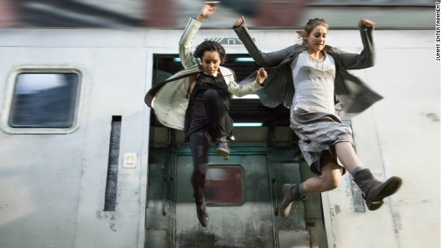ZOE KRAVITZ and SHAILENE WOODLEY star in DIVERGENT